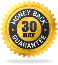 100% No-Questions-Asked Money Back Guarantee