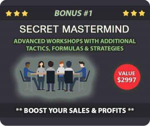 Bonus 1 - SECRET MASTERMIND